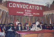 Convocation 2001 PMC.